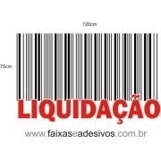 Liquidação Código de Barras Branco -AD3LIQ02