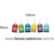TAGS coloridos de desconto - AD4DESC01