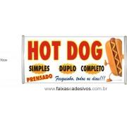 Faixa Hot-Dog o metro