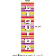 Adesivo Liquida Vertical  - listras LIQUI 011
