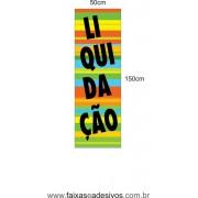 Liquidação Adesivo Vertical 150x50cm - LIQ010LIS