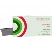 001 - 1000 Cartôes de Visita 4x0 cor - corte reto - SEM VERNIZ - 250g