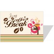 3014 - Placa em PVC 70x50cm - Impressão Digital - Qualquer tema!