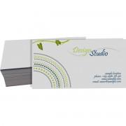 Cartão de Visita Reciclato 4x0 cor - 250 peças