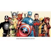 Painel de Aniversário 013 Avengers - 1x2m