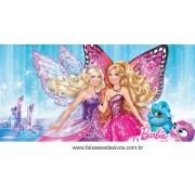 Painel de Aniversário 017 Barbie - 1x2m