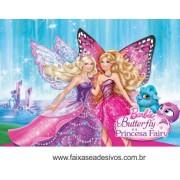painel de Aniversário 018 Barbie Butterfly - 100x150cm
