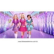 Painel de Aniversário 020 Barbie 1x2m