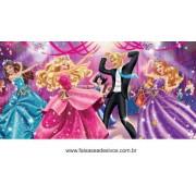 Painel de Aniversário 022 Barbie - 1x2m