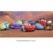 Painel de aniversário 029 Carros - 1x2m