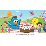 Painel de aniversário 046 Galinha Pintadinha 1,00x2,00m