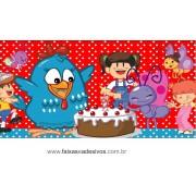 Painel de aniversário 048 Galinha Pintadinha - 1,00x2,00m