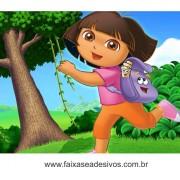 Painel de aniversário 051 Dora Aventureira 1,00x1,30m