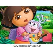 Painel de aniversário 054 Dora Aventureira 1,00x1,40m