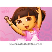 Painel de aniversário 059 Dora Aventureira 1,00x1,50m