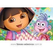 Painel de aniversário 056 Dora Aventureira 1,00x1,60m