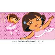 Painel de aniversário 062 Dora Aventureira 1,00x2,00m