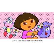 Painel de aniversário 063 Dora Aventureira 1,00x2,00m