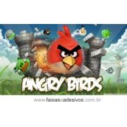 Painel de aniversário 070 Angry Bird 1,00x2,00m