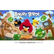 Painel de aniversário 071 Angry Bird 1,00x2,00m
