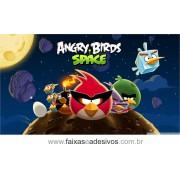 Painel de aniversário 072 Angry Bird 1,00x2,00m