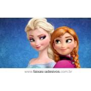 Painel de Aniversário 087 Frozen 1,00x2,00m