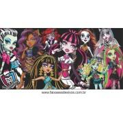 Painel de Aniversário 093 Monster High 1,00x2,00m