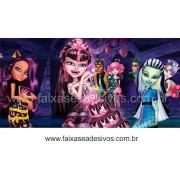 Painel de Aniversário 096 Monster High 1,00x2,00m