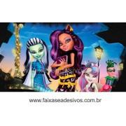 Painel de Aniversário 102 Monster High 1,00x1,80m
