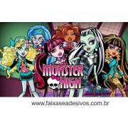 Painel de Aniversário 104 Monster High 1,00x1,70m