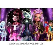 Painel de Aniversário 109 Monster High 1,00x1,60m