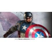 Painel de Aniversário 111 Capitão América 1,00x2,00m