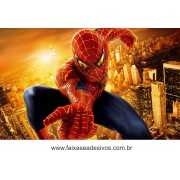 Painel de Aniversário 117 Homem Aranha 1,00x1,60m