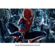 Painel de Aniversário 119 Homem Aranha 1,00x1,60m