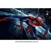 Painel de Aniversário 121 Homem Aranha 1,00x1,60m