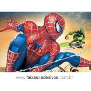 Painel de Aniversário 122 Homem Aranha 1,00x1,50m
