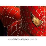 Painel de Aniversário 123 Homem Aranha 1,00x1,50m
