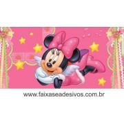 Painel de Aniversário 138 Minnie 1,00x2,00m