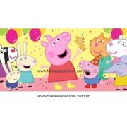 Painel de Aniversário 149 Peppa 1,00x2,00m