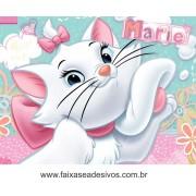 Painel de aniversário 159 Gatinha Marie 1,00x1,30m