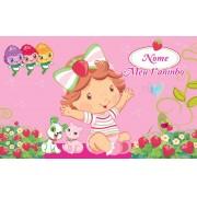 Painel de aniversário 164 Moranguinho Baby 1,00x1,60m