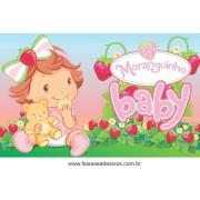 Painel de aniversário 165 Moranguinho Baby 1,00x1,60m