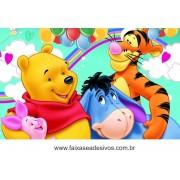 Painel de Aniversário 173 Pooh 1,00x1,60m