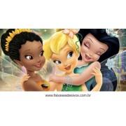 Painel de Aniversário 192 Tinker Bell 1,00 x 2,00m