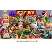 painel de aniversário 200 Toy Story 1,00x1,90m