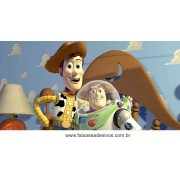 painel de aniversário 203 Toy Story 1,00x2,00m