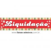 Adesivo Liquidação e listras flores - AD1LIQ07