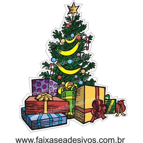 Adesivo Arvore de Natal (P-M-G) 2527  - Fac Signs