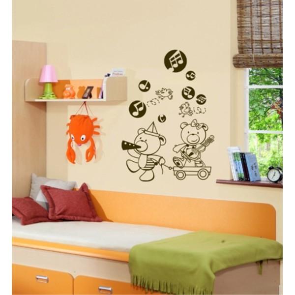 Infantil Adesivo Baby Kids Music 60x85cm  - FAC Signs Impressão Digital