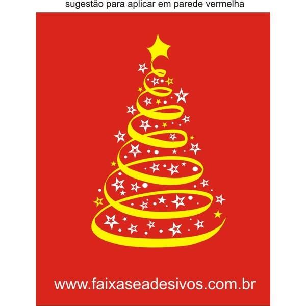 Adesivo Arvore de Natal Fita (diversos tamanhos) 2531  - Fac Signs